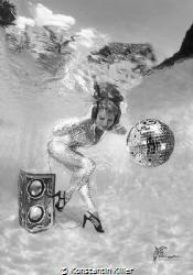 Underwater Photography UW model Eugenia B. Photographer... by Konstantin Killer