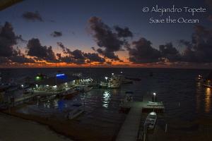 Sunrise in San pedro, Belize by Alejandro Topete