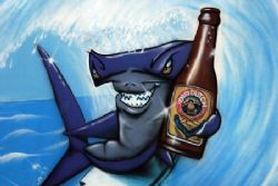 """""""Drink Old Dutch the choice of discerning hammerheads!"""" G... by Michael Canzoniero"""