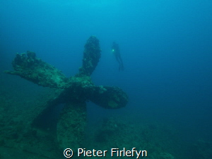 Umbria wreck near Port Sudan! by Pieter Firlefyn