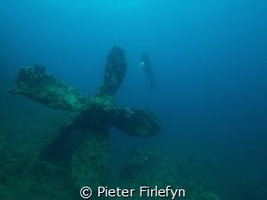 Umbria wreck near Port Sudan! by Pieter Firlefyn