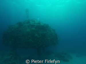 Jacque Cousteaus Precontinent 2 Sudan Africa Red Sea Shaa... by Pieter Firlefyn