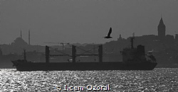 MV SAADET C while transiting Bosphorus staright to south ... by I.cem Ozoral