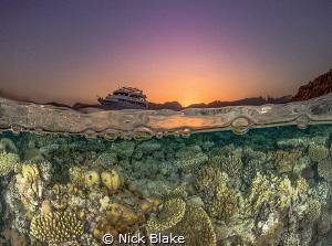 Red Sea Sunset, Sharm El Sheikh, Egypt by Nick Blake