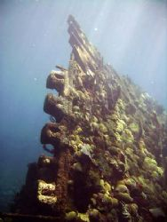 Another part of the superstructure of the Cristobal Colon... by Jonathan Whitefield
