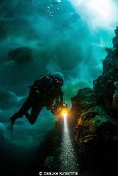 The Ice Diver by Daisuke Kurashima