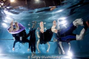 Freediving-STA..... by Sergiy Glushchenko