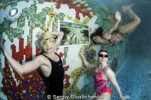 Vernissage - opening day... by Sergiy Glushchenko