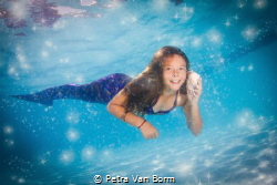 always be a mermaid by Petra Van Borm