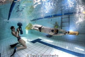 Underwater sport by Sergiy Glushchenko