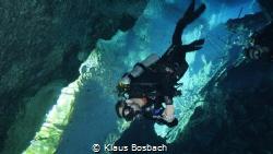 Cenote Chac Mool Photo by Klaus Bosbach from Playa Scuba ... by Klaus Bosbach