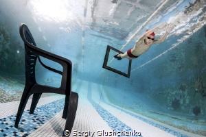 On the pool's bottom by Sergiy Glushchenko