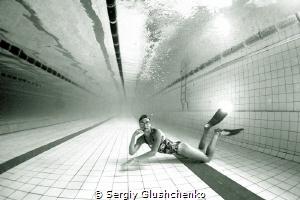 After swimming... by Sergiy Glushchenko