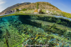 Sunken agora of the Lycian antique ciy, Lymra by Ozgur Gedikoglu