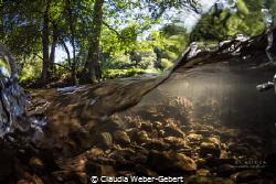 rivers flow.......... by Claudia Weber-Gebert
