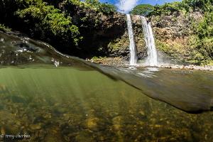 Wailua Falls, Kauai, HI by Tony Cherbas