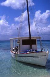 Our dive boat in Cozumel by Jerry Hamberg