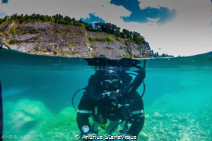 Finishing dive. by Andrius Stanevicius