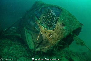 Diving attraction by Andrius Stanevicius