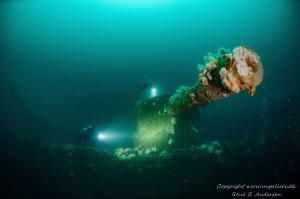 HMS Defence WW1 Wreck from the Battle of Jutland and this... by Rene B. Andersen