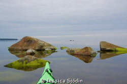 A very calm and magic afternoon in my kayak. by Jessica Sjödin