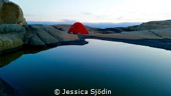 One of my best tentplaces at the west coast of Sweden. by Jessica Sjödin