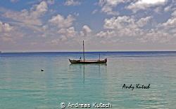Kuramathi Beach MAldives by Andreas Kutsch
