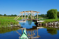 In my kayak again and having a lovely day in a Swedish ri... by Jessica Sjödin
