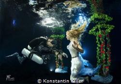 Model: Veronika VA Model TEC Taucher: Söyup Bay Fotogra... by Konstantin Killer