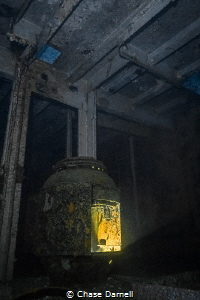 """""""The Furnace"""" Deep in the decks of the Kittiwake I found... by Chase Darnell"""