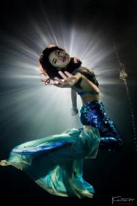 Mermaid queen by Kelvin H.y. Tan