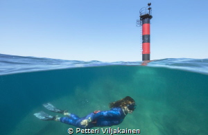 Lighthouse split by Petteri Viljakainen