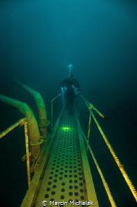 Underwater Walk by Marcin Michalak