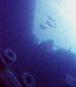 ZENOBIA WRECK, CYPRUS NIKONOS V 15 mm SEA & SEA LENS  by Karelas George