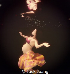 Underwater Pregnancy by Jack Juang