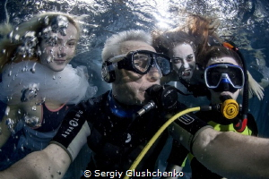 Selfie with Models... by Sergiy Glushchenko