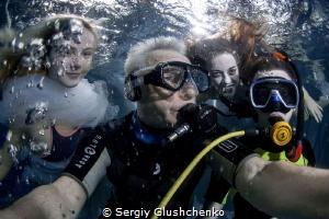 Selfie with Models... by Sergiy Glushchenko