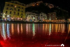 Marina Grande of Sorrento, split shot with a tripod and a... by Marco Gargiulo