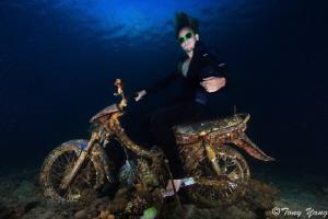 Underwater Rider by Tony Yang
