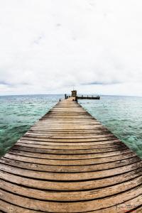 The pier by Kelvin H.y. Tan