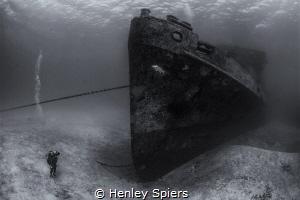 USS Kittiwake by Henley Spiers