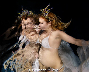 The dreams of the pregnant Princess Margaret. by Plamena Mileva