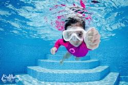 Little Diver by Simon Chong