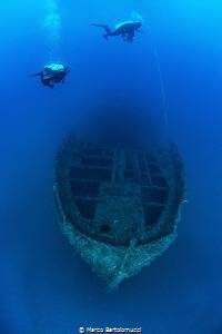 Capua WWII Wreck by Marco Bartolomucci