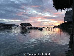 Sunset at Raja Ampat. Iphone 7 plus. by Mehmet Salih Bilal