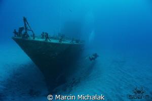 The wreck of P31 Comino Island Malta by Marcin Michalak