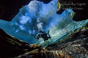 Inside the Cave, Las Estacas México by Alejandro Topete