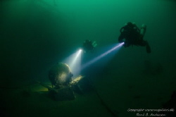 Ilse Fritzen WW2 Wreck in Strongfjord, Norway.
