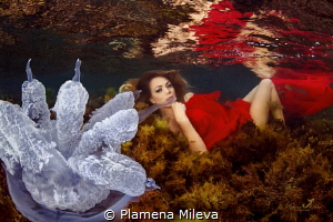 The Underwater Maja by Plamena Mileva