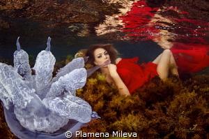The Underwater Maja by Plamena Mileva